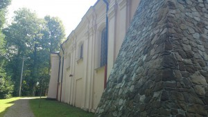 Kościół w Borku Starym koło Tyczyna